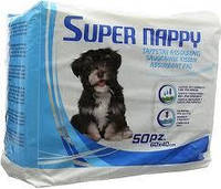 Пеленки для собак 60х40, 50шт/уп (4 уп. в ящ.) (цена за упаков.) *