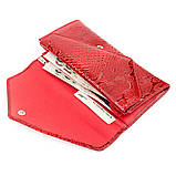 Кошелек женский KARYA 17189 кожаный Красный, Красный, фото 4