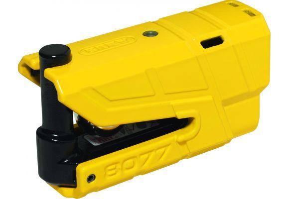 Замок на тормозной диск с 3D сигнализацией Abus 8077 Granit Detecto X-Plus, желтый