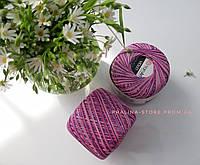 Пряжа YarnArt Violet мерсеризованный хлопок Ярнарт Виолет фиолетовый меланж