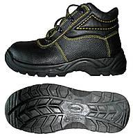 Ботинки юфтевые рабочие с мягкой вставкой