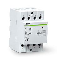 Модульный контактор Noark 25А 4NO 230V Ex9CH2540 102412
