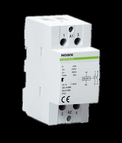 Модульный контактор Noark 40А 2NO 220/230V Ex9CH4020 102416, фото 2