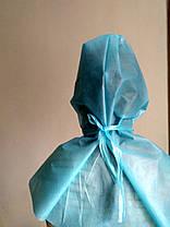 Шапочка косынка защитная есть сертификат на голову для медперсонала или промышленности, фото 3