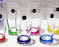 """Набор высоких стаканов Luminarc """"CORTINA RAINBOW"""" 330мл (J3138)"""