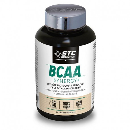 BCAA Синерджи+, STC Nutrition,120 капсул