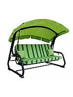 Садовый уличный раскладной 4х местный диван качель кровать Ost-Fran / Ост-Фран Tripoli / Триполь
