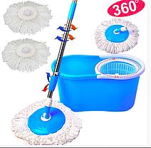 Spin MOP 360 Турбо Швабра с Ведром Blue, фото 3
