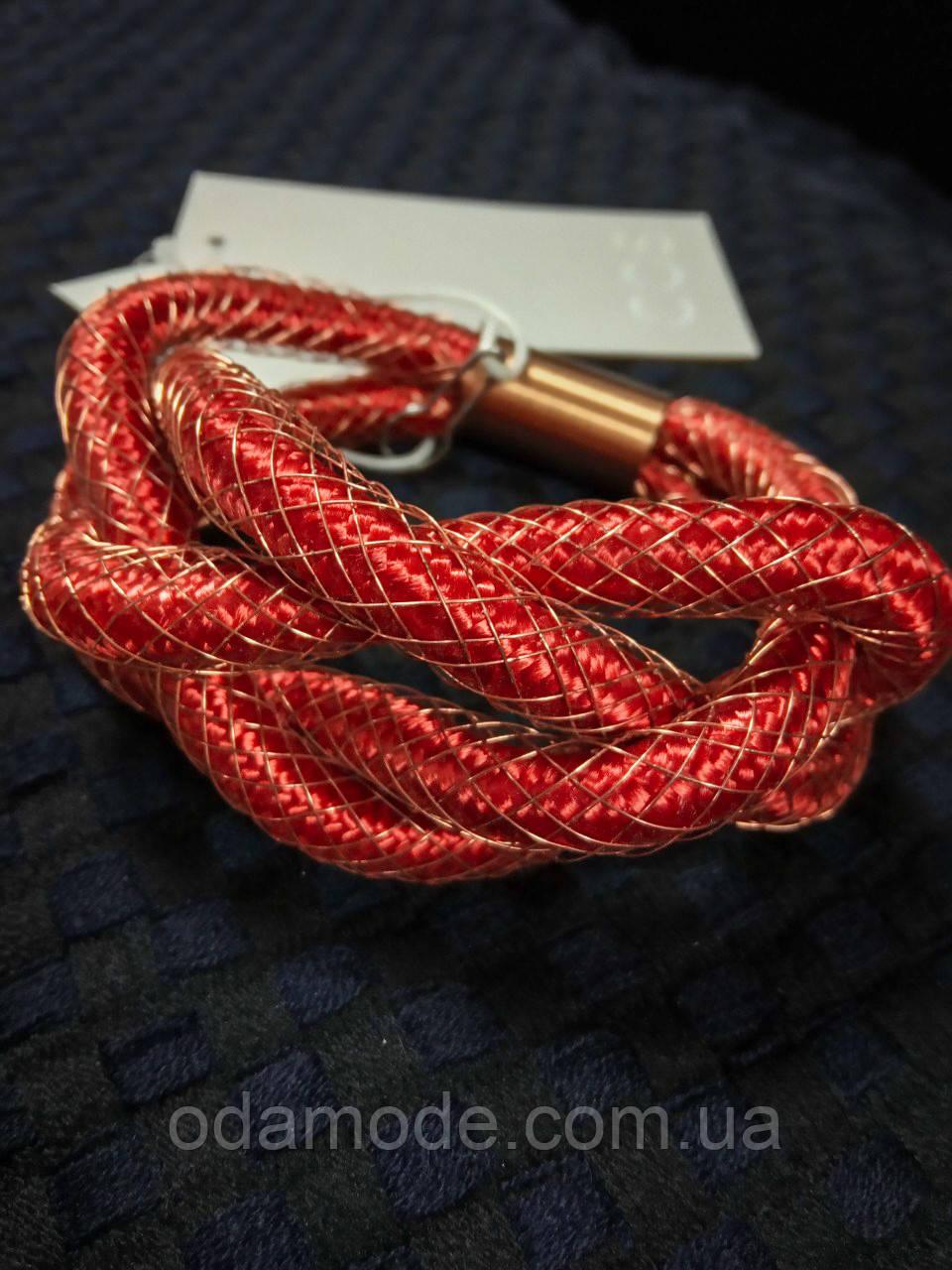 Браслет  плетёный узел  COS
