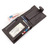 Мужской кошелек ST Leather 18330 (ST137) очень вместительный Коричневый, Коричневый, фото 3