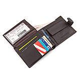 Мужской кошелек ST Leather 18330 (ST137) очень вместительный Коричневый, Коричневый, фото 4