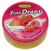 Льодяники зі смаком малини 175 г Woogie Fine Drops в жерстяній банці
