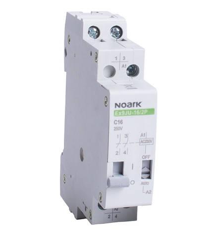 Імпульсне реле Noark 16А 230VAC 1p Ex9JU-16/1P 110261, фото 2