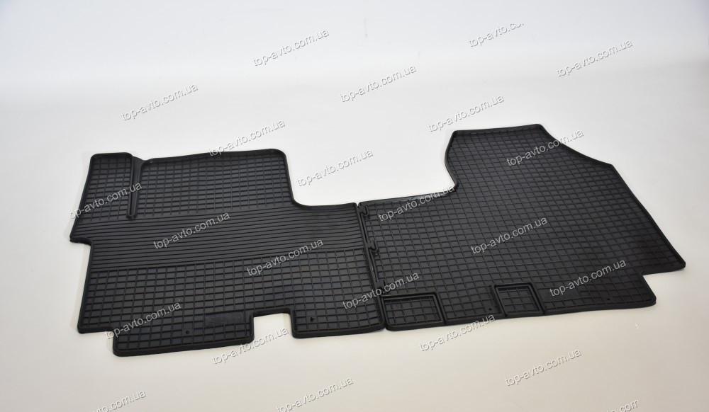 Резиновые коврики в салон Renault Trafic II 2001-2014 ЗРТИ Харьков