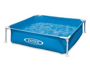 Бассейн каркасный Intex 337 л / 122*122*30 см