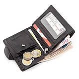 Мужской кошелек ST Leather 18495 (ST131) вертикальный Черный, Черный, фото 5