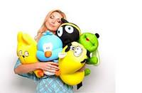Детские игрушки  — лучший способ снять стресс