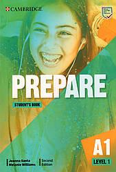 Учебник Cambridge English Prepare! 2nd Edition 1 Student's book