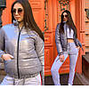 Куртка ветровка женская стильная демисезонная плащевка Монклер Gmil1182