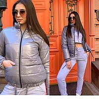 Куртка ветровка женская стильная демисезонная плащевка Монклер Gmil1182, фото 1