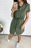 Красивое женское летнее платье