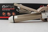 Утюжок выпрямитель плойка для укладки волос гофре 4 в 1 Gemei