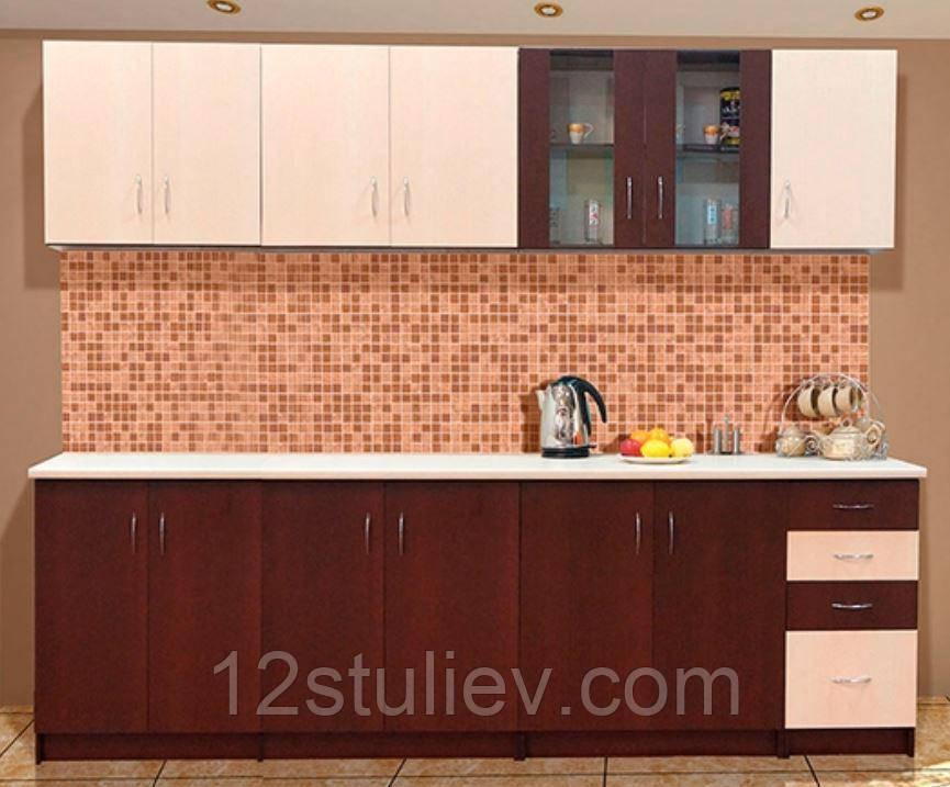 Кухня Венера 2.6м  Венге