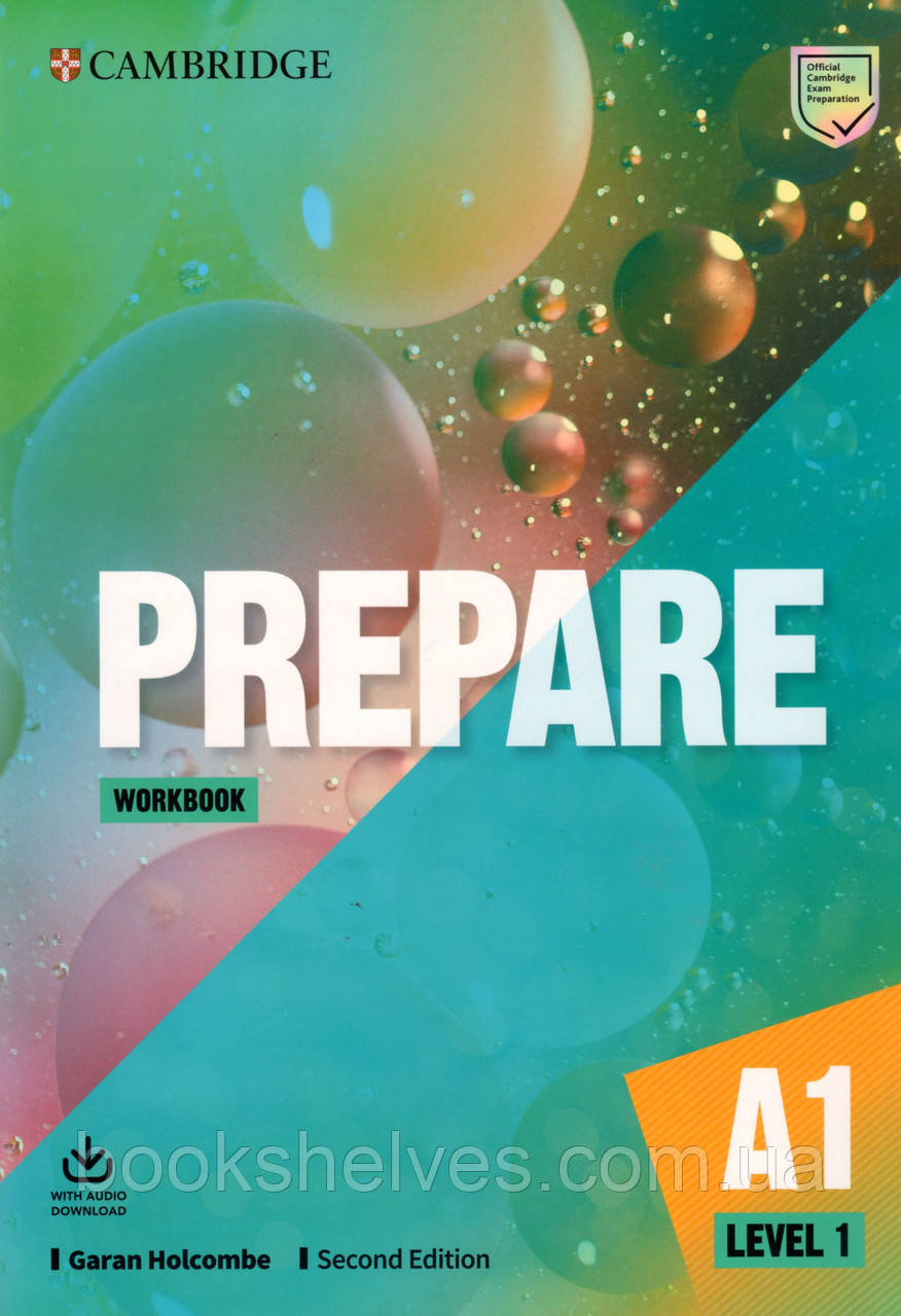 Рабочая тетрадь Cambridge English Prepare! 2nd Edition 1 Workbook + Audio Download