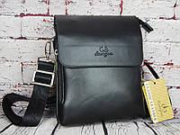Небольшая мужская сумка Langsa  с ручкой. Размер 22*18см   КС97