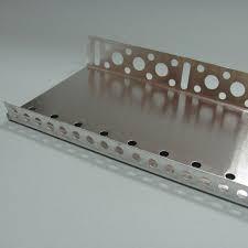 Профіль цокольний алюмінієвий 83 мм, L 2,5 м