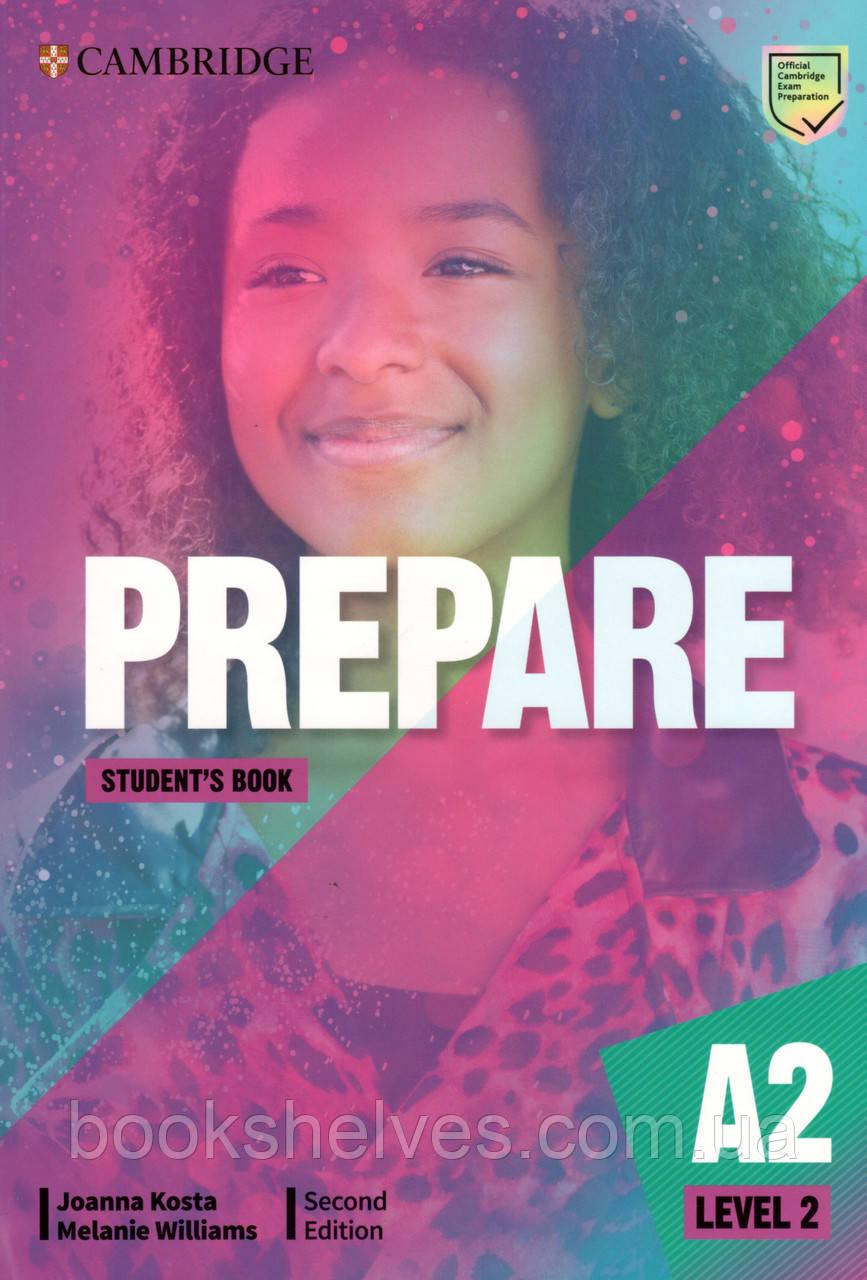 Учебник Cambridge English Prepare! 2nd Edition 2 Student's book