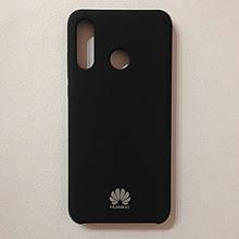Чехол Huawei P30 Lite Silicone Case Black