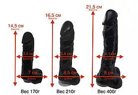 Мыло в форме члена на присоске Длина 21 Диаметр 5