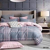 Двуспальное постельное белье ранфорс Вилюта 20101