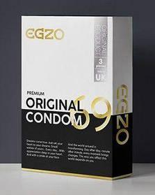 """Анатомические презервативы EGZO """"Original"""" №3"""