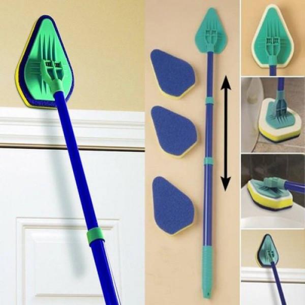 Универсальная чистящая щетка-швабра с 3-мя насадками  Clean Reach