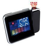 Проекционные часы DS-8190!Часы-метостанция,вы всегда будете в курсе изменений погоды!, фото 5