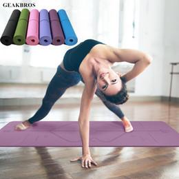 Коврик для йоги и фитнеса Geakbros!