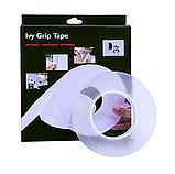Многоразовая сверхсильная клейкая лента Ivy Grip Tape 3 м Прозрачная!, фото 4