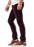 Мужские котоновые джинсы вельвет фабричное качество
