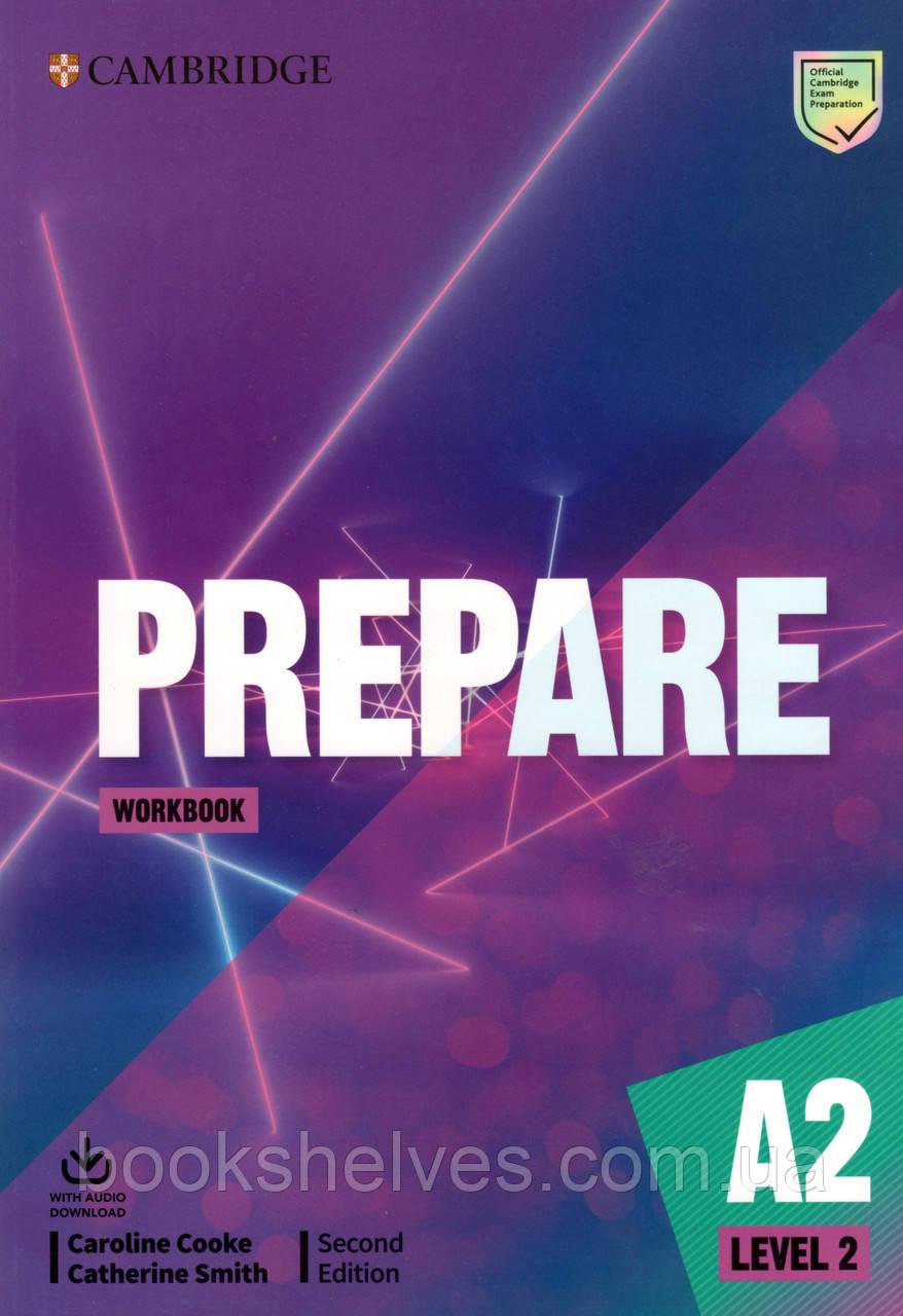 Робочий зошит Cambridge English Prepare! 2nd Edition Workbook 2 + Audio Download