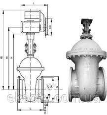 Засувка сталева 30с64нж ду-200 ру-25