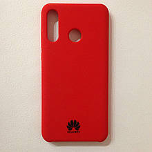 Чехол Huawei P30 Lite Silicone Case Red