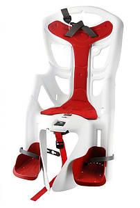 Велокрісло Bellelli Pepe Італія на багажник Біле