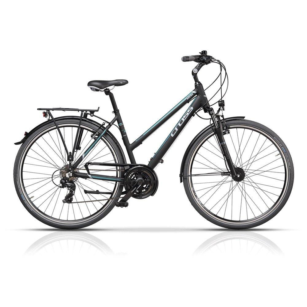 "Велосипед 28"" CROSS Arena Lady рама 17"" 2017 серый"