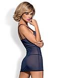 Auroria сорочка голубая Obsessive, фото 3