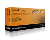 Прочные перчатки нитриловые ideall GRIP black 50 шт., размер XL XL