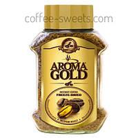 Кофе натуральный растворимый сублимированный Aroma Gold 200g