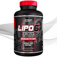 Жиросжигатель Nutrex Lipo-6 Black Liqui caps 120 caps