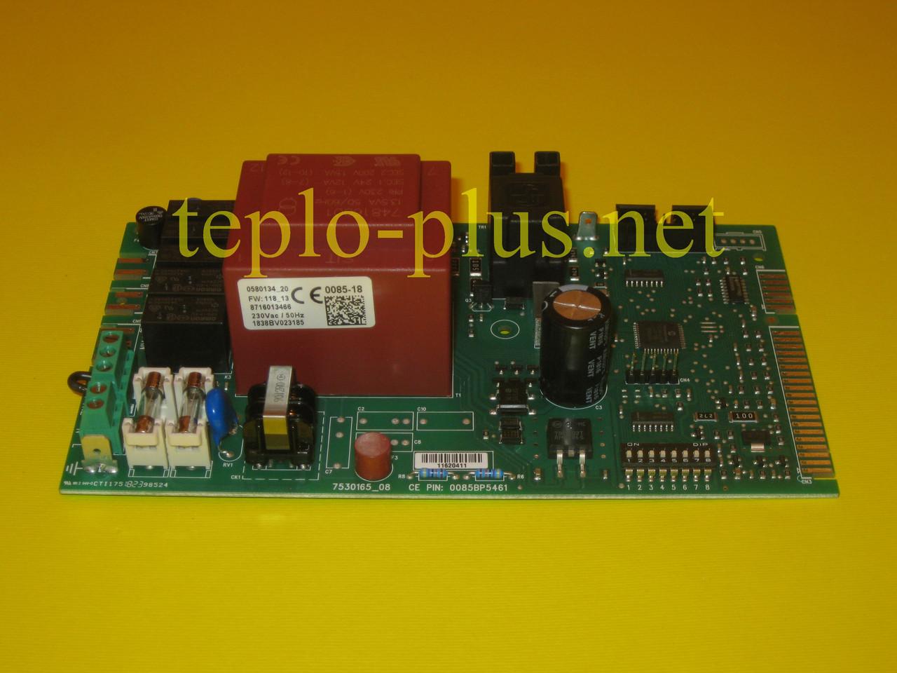 Плата (друкована LED) управління 8716013466 Buderus Logamax U042-24K, фото 2